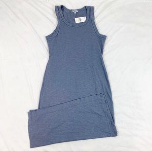 Splendid layer midi tank dress